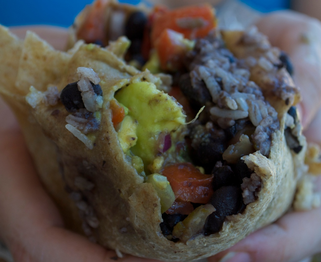 Burrito guts