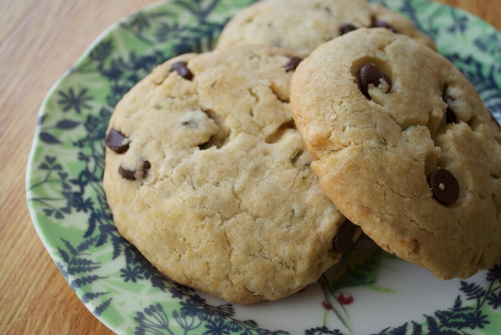 Rosemary Chocolate Chip Cookies.