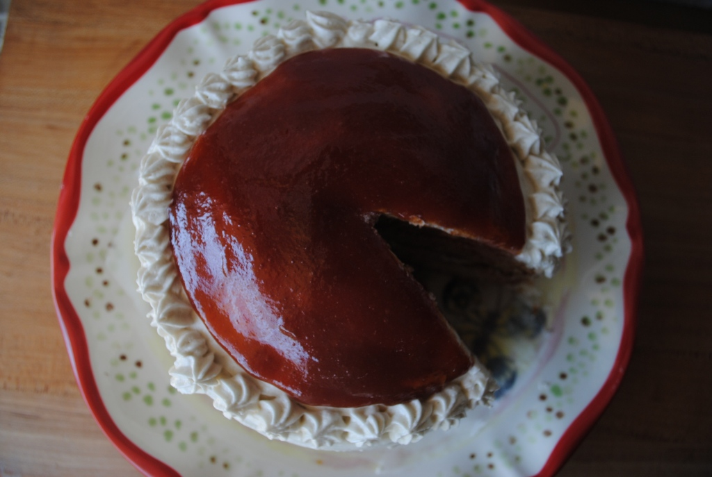 Guava Jelly Cake Recipe: Vegan Guava Cake.