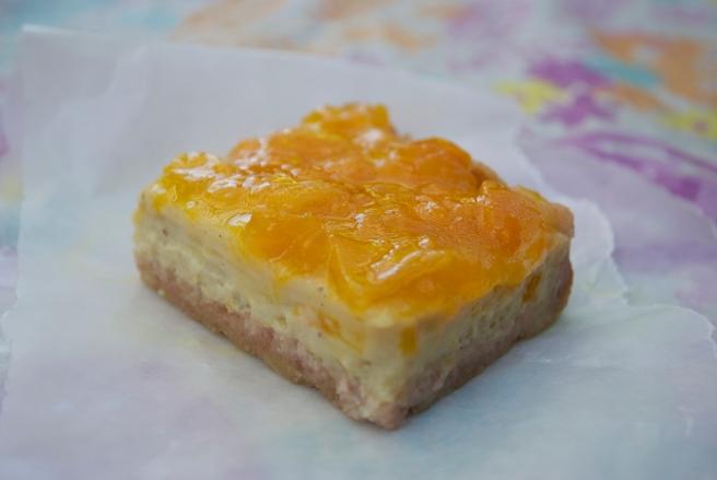 Mango Bars w/ Li Hing Crust.